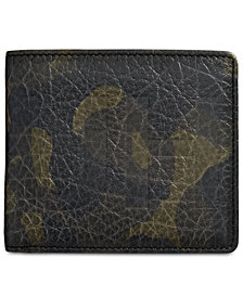 Hugo Boss Men's Victorian Camouflage Leather Wallet