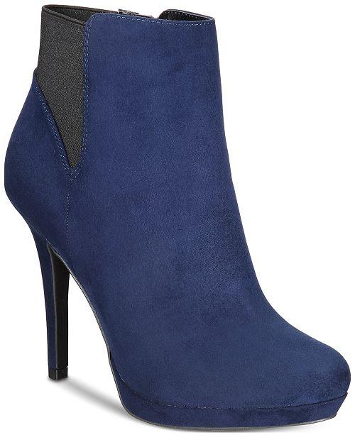 Thalia Sodi Briea Platform Ankle Booties, Created for Macy's
