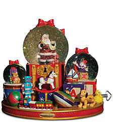 Christopher Radko Toy Time Santa Snow Globe