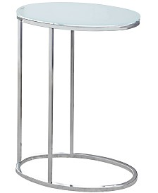 Monarch Specialties End Table/Snack Table