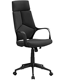 Office Chair Fabric High Back Executive