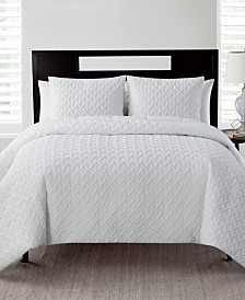 VCNY Home Nina 2-Pc. Embossed King Quilt Set
