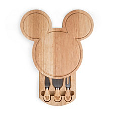 Toscana™ by Picnic Time Mickey Mouse - Mickey Head Shaped Cheese Board