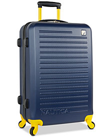 "Nautica Tide Beach 25"" Hardside Spinner Suitcase"