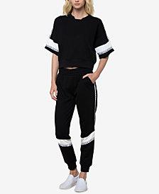 Juicy Couture Logo-Trim Jogger Pants