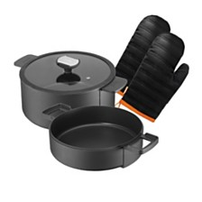Berndes b-Double Round 5-pc Cookware Set