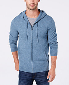 Tasso Elba Men's Cashmere Hoodie, Created for Macy's