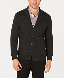 Tasso Elba Men's Pure Cashmere Cardigan, Created for Macy's