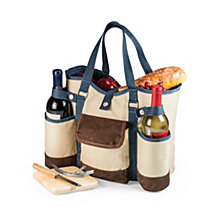Picnic Time Wine Country Tote – Wine & Cheese Picnic Tote