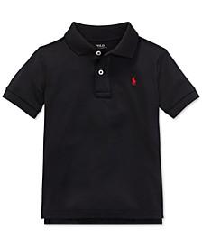 Little Boys Moisture-wicking Tech Jersey Polo Shirt