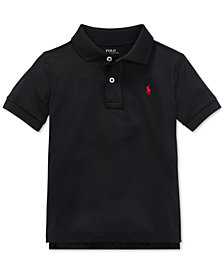 Polo Ralph Lauren Toddler Boys Stretch Jersey Polo Shirt