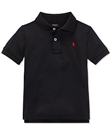Polo Ralph Lauren Toddler Boys Moisture-wicking Tech Jersey Polo Shirt