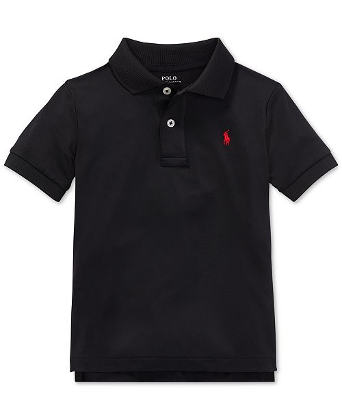 0de08197a ... Polo Ralph Lauren Toddler Boys Moisture-wicking Tech Jersey Polo Shirt  ...