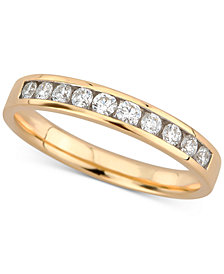Diamond Channel-Set Band (1/3 ct. t.w.) in 14k Gold