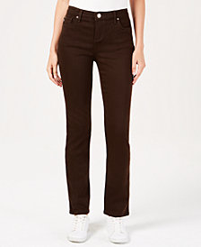 Lee Platinum Petite Stretch Slim-Fit Pants