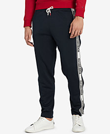 Tommy Hilfiger Men's Logo Track Pants, Created for Macy's