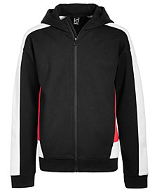 Ideology Big Boys Colorblocked Zip-Up Hoodie, Created for Macys