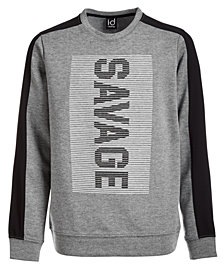 Ideology Big Boys Savage-Print Sweatshirt, Created for Macy's