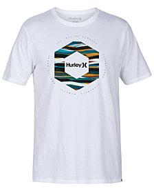 Hurley Men's Hexagon Logo Graphic T-Shirt