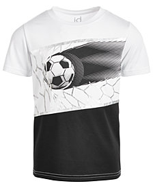 Ideology Little Boys Soccer-Print T-Shirt, Created for Macy's