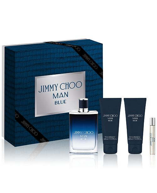 4329b4e6bb9d Jimmy Choo Men s 4-Pc. Man Blue Gift Set   Reviews - All Perfume ...