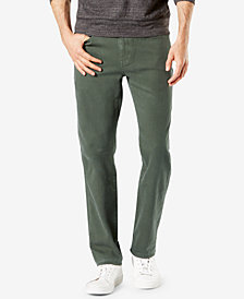 Dockers® Men's Alpha Jean-Cut Straight-Fit Khaki Pants D2