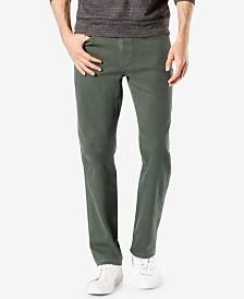 Dockers Men's Alpha Jean-Cut Straight-Fit Khaki Pants