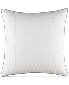 Clearview Ivory Quilted European Sham