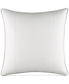Nautica Clearview Ivory Quilted European Sham
