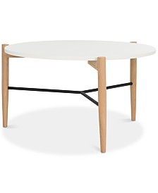 Thyme Round Coffee Table, Quick Ship