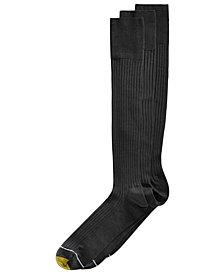 Gold Toe Men's 3-Pk. Extended Size Over-The-Calf Socks