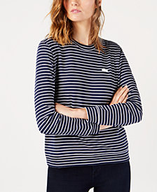 Lacoste Striped Sweatshirt