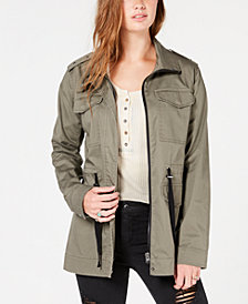 American Rag Juniors' Studded Utility Jacket, Created for Macy's