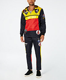 Reason Men's Take Over Navy Colorblocked Track Suit Separates