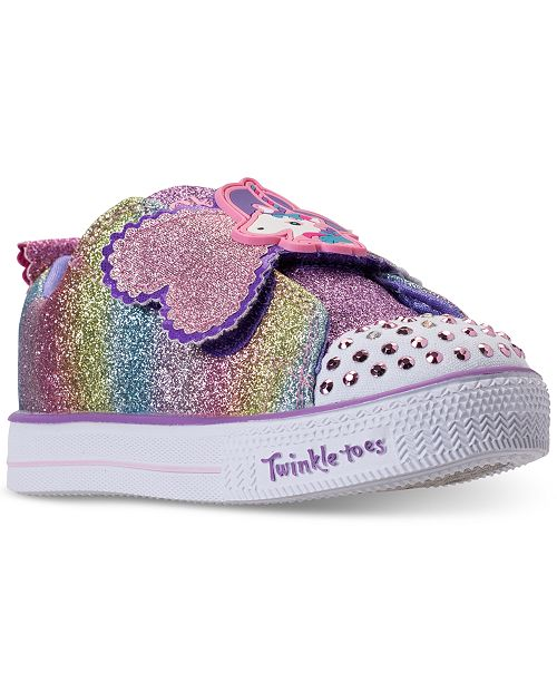 Skechers Toddler Girls' Twinkle Toes: Shuffle Lite Sparkle