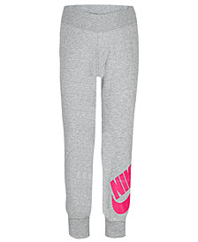 Nike Little Girls Futura Fleece Jogger Pants
