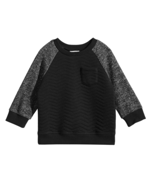 First Impressions Baby Boys Quilted CrewNeck Sweater Created for Macys