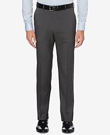 CLOSEOUT! Men's Portfolio Classic-Fit Stretch Crosshatch Dress Pants