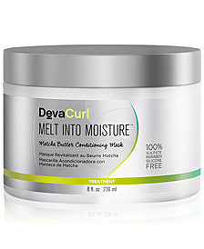 DevaCurl Melt Into Moisture Matcha Butter Conditioning Mask, 8-oz., from PUREBEAUTY Salon & Spa