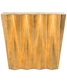 Gisela Hex Console Table, Quick Ship