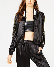 Juicy Couture Satin Bomber Jacket