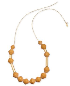 Image of Thirty One Bits Karis Chunky Scoop Necklace from The Workshop at Macy's