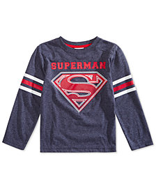 DC Comics Toddler Boys Superman Varsity T-Shirt
