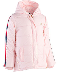 Tommy Hilfiger Little Girls Hooded Puffer Jacket