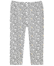First Impressions Toddler Girls Heart-Print Leggings, Created for Macy's