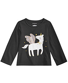 First Impressions Toddler Girls Tulle Unicorn Cotton Shirt, Created for Macy's