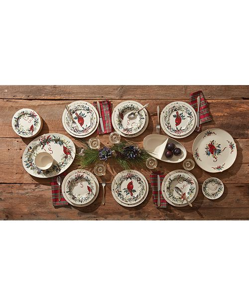 Lenox Winter Greetings Dinnerware Collection Amp Reviews