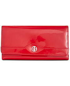 Giani Bernini Patent Receipt Wallet, Created for Macy's