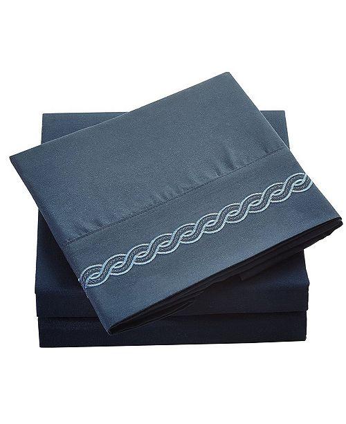 De Moocci Brushed Microfiber  Bedding - Wrinkle, Fade, Stain Resistant - Hypoallergenic - Queen
