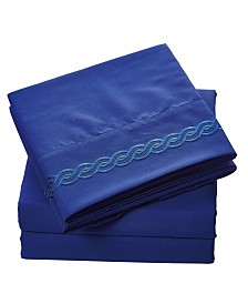 Brushed Microfiber  Bedding - Wrinkle, Fade, Stain Resistant - Hypoallergenic